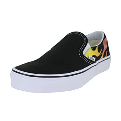 vans slip on black herren