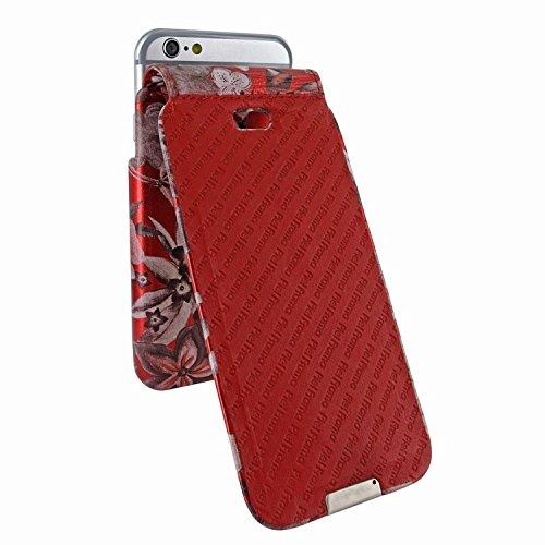 Piel Frama 676 Red Flower iMagnum ESSENCE iMagnum Leather Case for Apple iPhone 6 / 6S / 7 / 8 by Piel Frama (Image #5)
