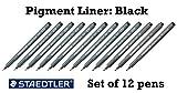 Staedtler Pigment Liner black fineliner