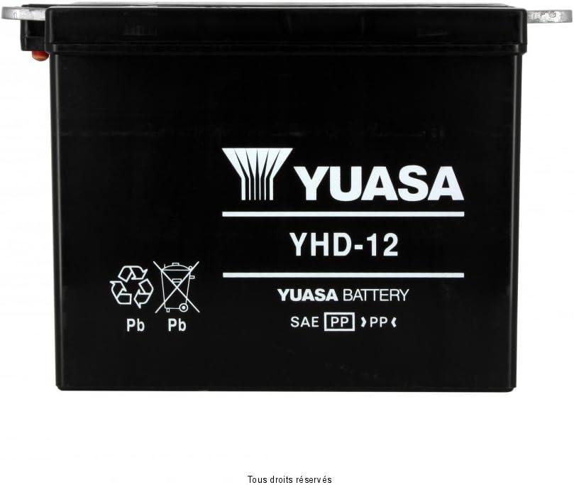 YUASA YHD-12 Batterie de Moto