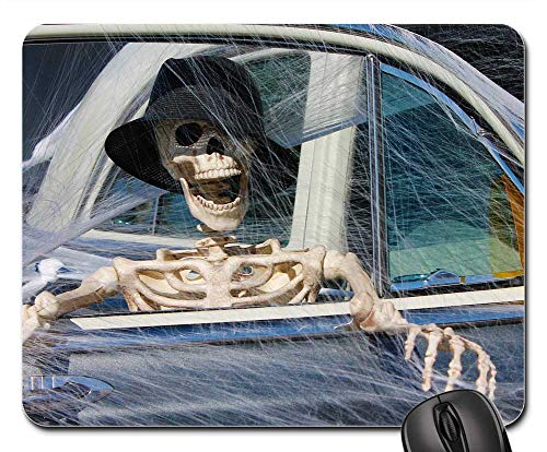 Mouse Pads - Skeleton Decoration Halloween Death