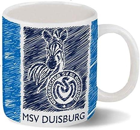 "Fleecedecke /""Querstreifen/"" MSV DUISBURG"