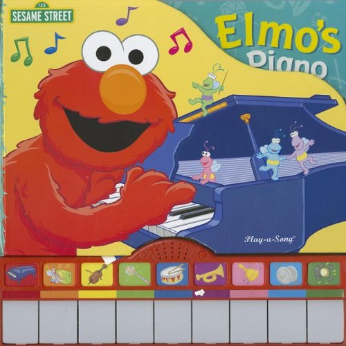 Sesame Street Song Book: Elmo's Piano (1 2 3 Sesame Street) by Publications International (Image #2)