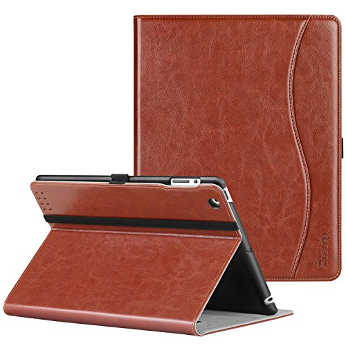 Cover Ipad 2 Case (Ztotop iPad 2/3/4 Case - Lightweight Slim Tri-Fold Smart Stand Cover Protector Supports Auto Wake/Sleep for iPad 4th Generation with Retina Display, iPad 3 & iPad 2 - Brown)