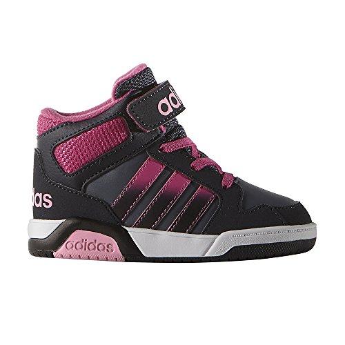 adidas Unisex Baby Bb9tis Mid Inf Sneaker Azul (Onix / Rosa / Rossua)