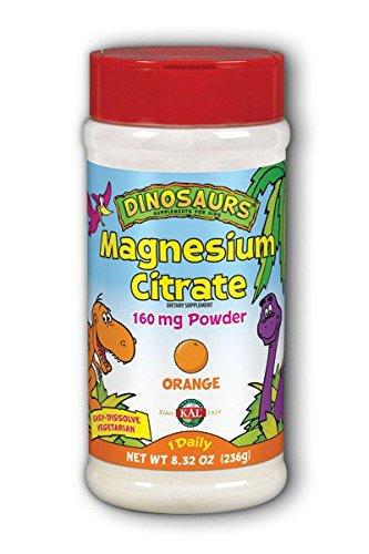 Dinosaurs Magnesium Citrate Powder 160 mg Orange) Kal 8.32 o