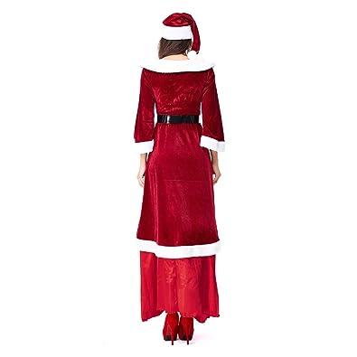 Amazon.com: Dasuy Vestido de Navidad para mujer, disfraz de ...
