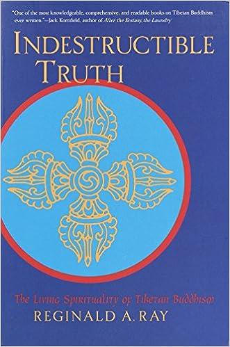 Indestructible Truth: The Living Spirituality of Tibetan Buddhism (World of Tibetan Buddhism, Vol. 1)