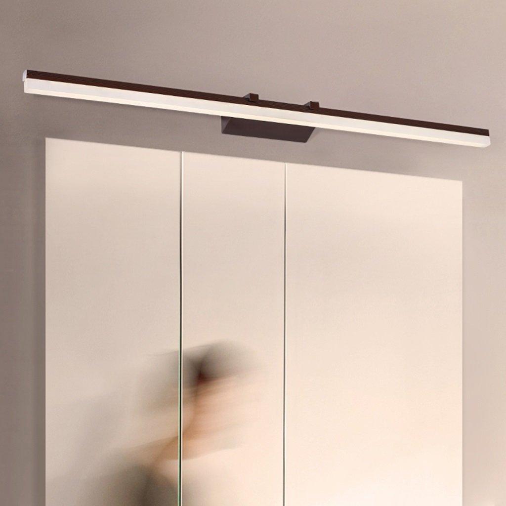 QAZ Badezimmerspiegel Beleuchtung LED-Make-up-Spiegel vorne Leuchten, moderne Beleuchtung, Badezimmer Badezimmer Schaltschrankleuchten - Wasserdicht Beschlagfrei Badezimmer Spiegel Leuchten (Farbe  40 cm 8 W)