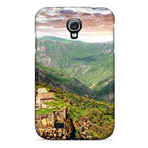 Sanp On Case Cover Protector For Galaxy S4 (temple Fortress In The Mountains Hdr)