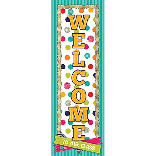 Classroom Door - Edupress Sensational Spots Welcome Banner (EP60347)
