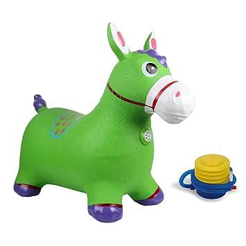 los angeles ever popular on wholesale Amazon.com : Xyanzi kids toys Jumping Horse, Blue Horse ...