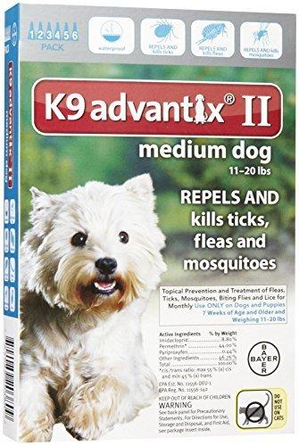 bayer-004bay-04461618-k9-advantix-ii-for-medium-dogs-11-20-lbs-teal-6-months