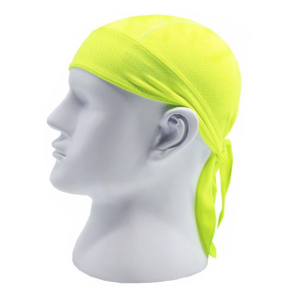Sweat Wicking Dew Doo Rag Skull Cap Beanie Adjustable Hat Chemo Cap Head Wrap for Men Women Outdoor Sport Cycling Running Riding Skiing Trekking Fits Under Helmets Baseball Cap Absorptive Moisture