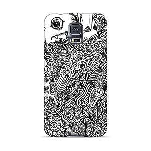 MansourMurray Samsung Galaxy S5 Bumper Hard Phone Case Unique Design Beautiful Three Days Grace Series [ztb11691MBRw]