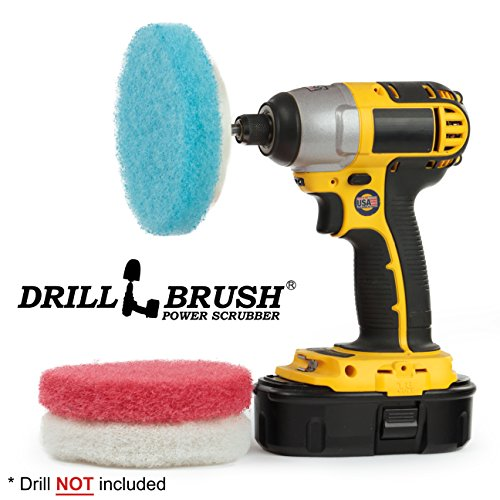 Bathroom Cleaning Power Scrubber Scouring Pad Kit ()