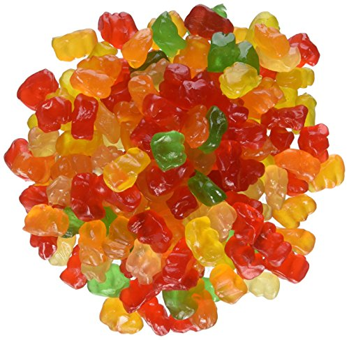 Ferrara Tiny Gummy Bears Candy, 5 Pound Bulk Candy -