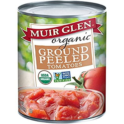 Muir Glen Organic Ground Peeled Tomatoes, 28 Ounce from Muir Glen