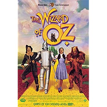 amazoncom wizard of oz group color movie poster print