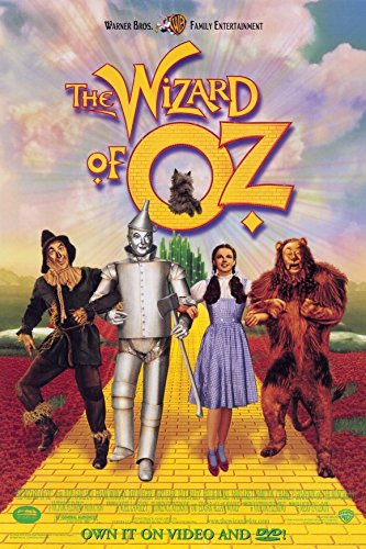11 x 17 The Wizard of Oz Movie Poster