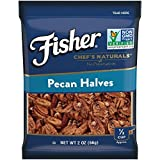 Cheap FISHER Chef's Naturals Pecan Halves, No Preservatives, Non-GMO, 2 oz