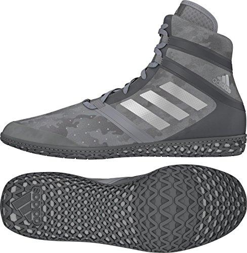 Scarpa Wrestling Adidas Ad Impatto - Uomo Grigio Mimetico