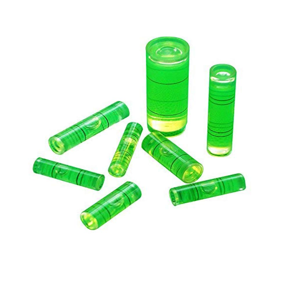 Chiloskit inclinomè tre Spirit Level Bubble-tube Vial Gradienter 6  * 15  mm, 7  * 26  mm, 8  * 31  mm, 6  piè ces 7 * 26 mm 8 * 31 mm 6 pièces