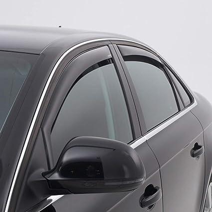 Vordere Windabweiser 1 Set Für Die Fahrer Und Beifahrerseite Cli003p0025 Passend Für Skoda Karoq Suv Typ Nu 5 Door 2017 Auto