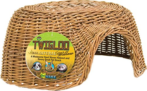 Ware Manufacturing Hand Woven Willow Twigloo Small Pet Hideout, -