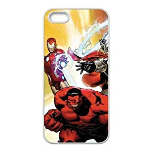 personalized Iron Man Scratch-Resistant Case Soft TPU Skin for iphone 5/5s Cover