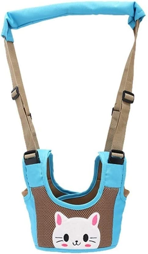 Color : Blue Guomao Baby Learning To Walk With A Basket-style Popular Brands Four Seasons General Breathable Child Learning To Walk Belt
