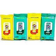 4 Pk Clorox Disinfecting Wipes Travel Size 2 Ea Fresh Scent & Citrus Blend Scent