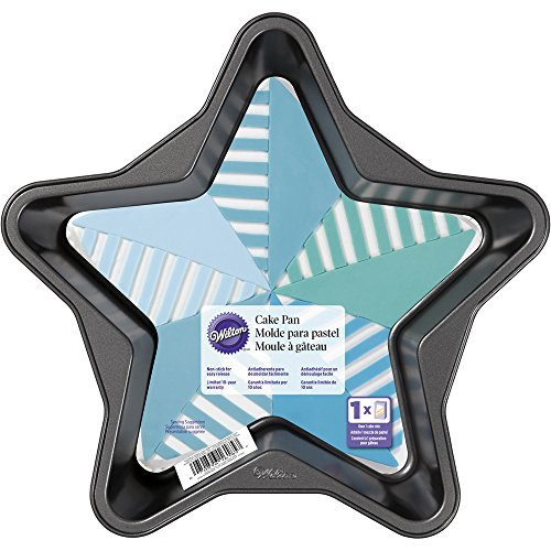 Wilton 2105-6185 Star-Shaped Cake Pan (Cake Star Pan Wilton)
