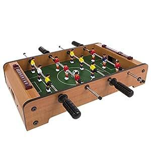 ColorBaby 28513 - Futbolín madera 12 jugadores, 51x31x10 cm
