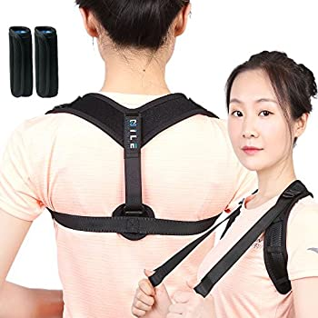 f28cbea692 Posture Corrector for Women Men - Comfortable Adjustable Correcting  Shoulder Support - Clavicle Posture Brace for