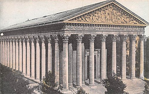 The Church of the Madeleine Paris France Postcard