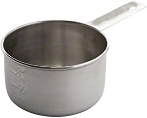 Tablecraft 1 Cup Stainless Steel Measuring Cup