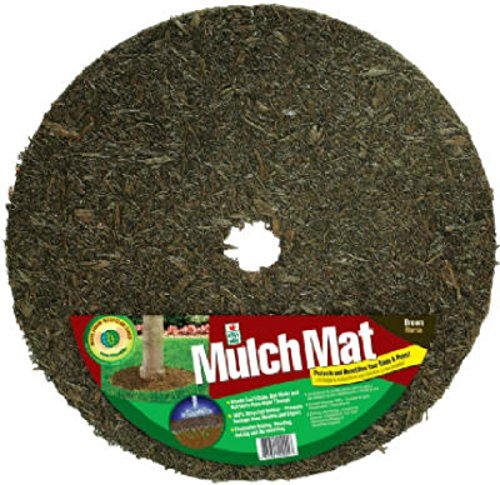 Perma Rings (Perma Mulch TR24912-30 24-Inch Red and Brown Tree Ring)
