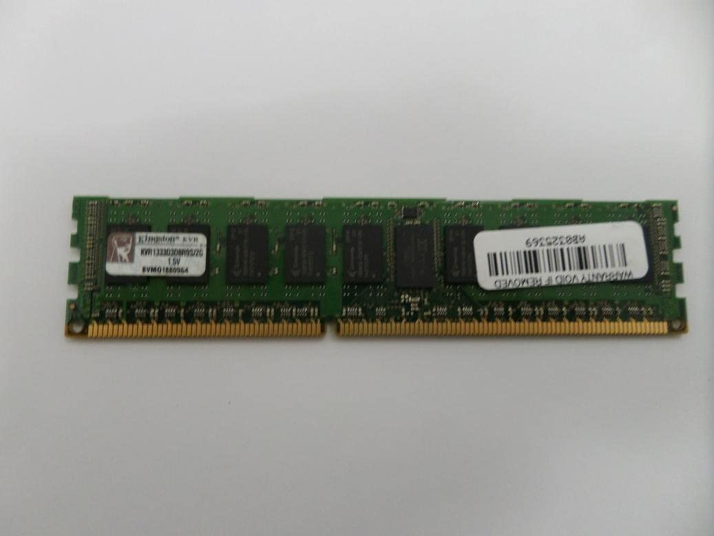 Kingston KVR1333D3D8R9S/2G ValueRAM 2GB 240-pin pc3-10600 DDR3 1333mhz ECC Registered server memory module