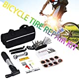 Sue Supply Bicycle Mountain Bike Road Bike Repair Tool Tire Filling Pump Combination Kit Tool Riding Equipment