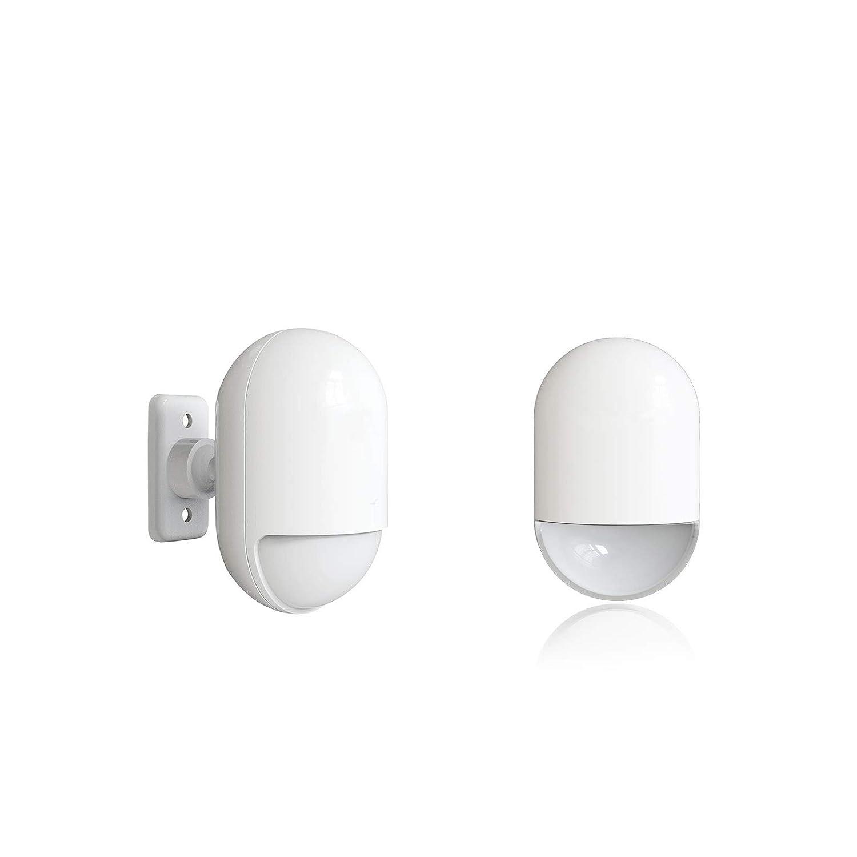 Bewegungsmelder Glasbruchmelder mit Fernbedienung Erweiterbar mit 40 Sensoren 120dB Sirene keppy/´2 Funk Fenster-//T/üralarm T/ürkontakte Set 2