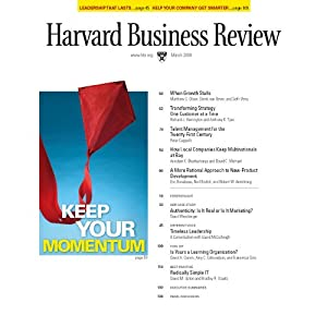 Harvard Business Review, March 2008 Periodical
