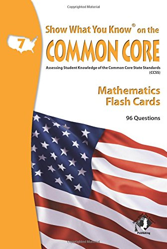 SWYK on the Common Core Math Gr 7 Flash Cards pdf