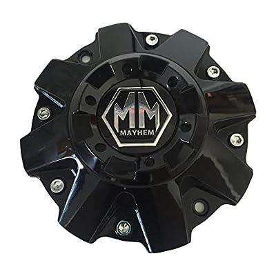 Mayhem Wheels Gloss Black C108040B01 806804B C-231-2 C-231-1-2 Center Cap: Automotive