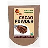 Cacao Powder Raw Organic Unsweetened Superfood by SOW+BLOOM – Sugar Free, Gluten Free, Non GMO – 1 lb (16 oz), Not Cocoa Powder