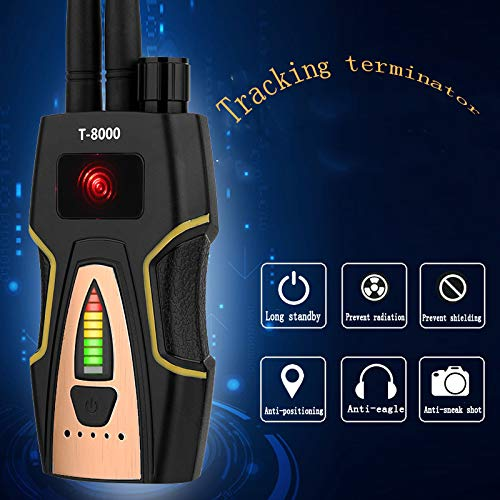 3d25edd82fb Anti Spy RF Detector Wireless Bug Detector Signal for Hidden Camera Laser  Lens GSM Listening Device