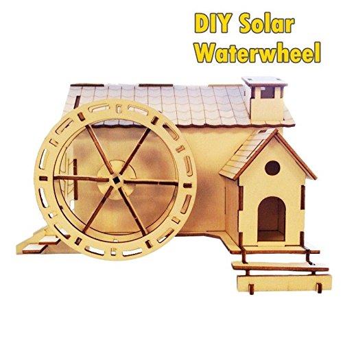 solar water mill model kit - 6