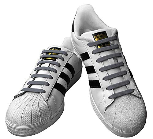 Used, Qi Laces Kicks Adult Grey for sale  Delivered anywhere in USA
