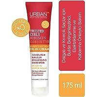 Urban Care Curl Hibiscus Water & Shea Butter Durulanmayan Krem, 1 Paket , 175 ml