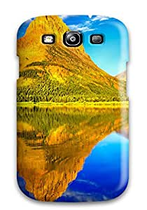 Holly M Denton Davis's Shop Snap-on Glacier National Park Case Cover Skin Compatible With Galaxy S3